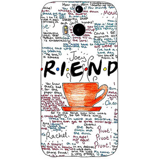 EYP FRIENDS Back Cover Case For HTC One M8 Eye 330451