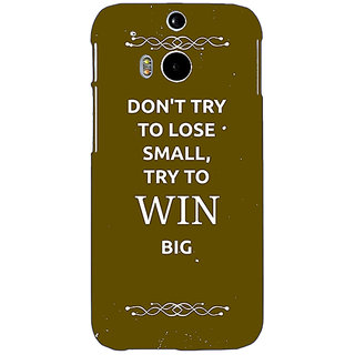 EYP SUITS Quotes Back Cover Case For HTC One M8 Eye 330489