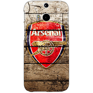 EYP Arsenal Back Cover Case For HTC One M8 Eye 330507