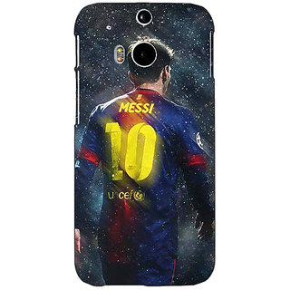 EYP Barcelona Messi Back Cover Case For HTC One M8 Eye 330524
