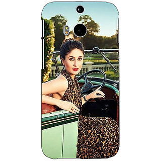 EYP Bollywood Superstar Kareena Kapoor Back Cover Case For HTC One M8 Eye 331054