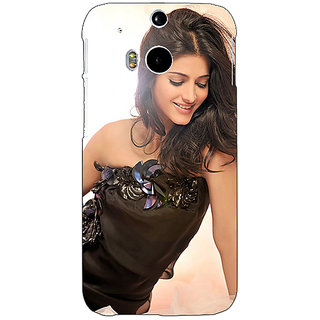 EYP Bollywood Superstar Shruti Hassan Back Cover Case For HTC One M8 Eye 331066
