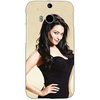 EYP Bollywood Superstar Sonakshi Sinha Back Cover Case For HTC One M8 Eye 331068