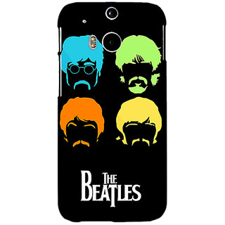 EYP The Beatles Back Cover Case For HTC One M8 Eye 331083
