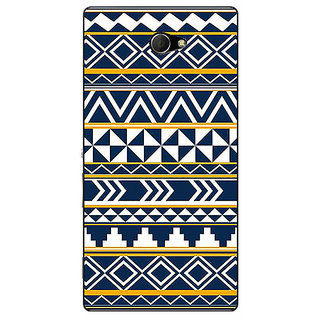 EYP Aztec Girly Tribal Back Cover Case For Sony Xperia M2 Dual 320060