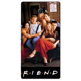 EYP TV Series FRIENDS Back Cover Case For Sony Xperia M2 Dual 320346