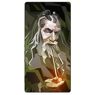 EYP LOTR Hobbit Gandalf Back Cover Case For Sony Xperia M2 Dual 320366