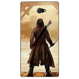 EYP LOTR Hobbit  Back Cover Case For Sony Xperia M2 Dual 320374
