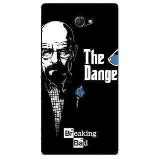 EYP Breaking Bad Heisenberg Back Cover Case For Sony Xperia M2 Dual 320406