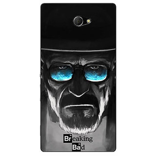 EYP Breaking Bad Heisenberg Back Cover Case For Sony Xperia M2 Dual 320426