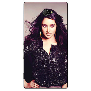 EYP Bollywood Superstar Shraddha Kapoor Back Cover Case For Sony Xperia M2 Dual 320980