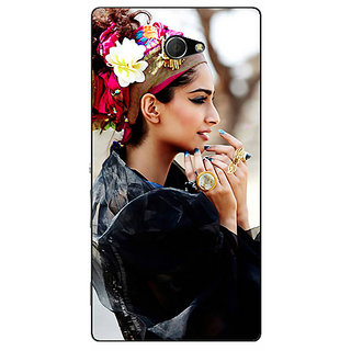 EYP Bollywood Superstar Sonam Kapoor Back Cover Case For Sony Xperia M2 Dual 320984