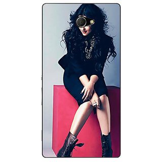 EYP Bollywood Superstar Sonakshi Sinha Back Cover Case For Sony Xperia M2 Dual 320994
