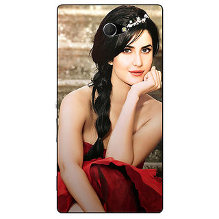 EYP Bollywood Superstar Katrina Kaif Back Cover Case For Sony Xperia M2 Dual 320995