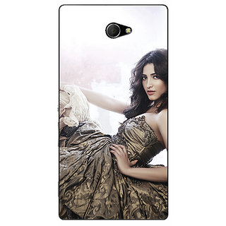 EYP Bollywood Superstar Shruti Hassan Back Cover Case For Sony Xperia M2 Dual 321014