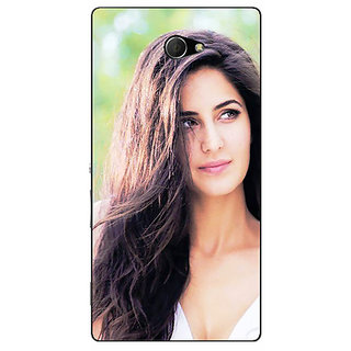 EYP Bollywood Superstar Katrina Kaif Back Cover Case For Sony Xperia M2 Dual 321023