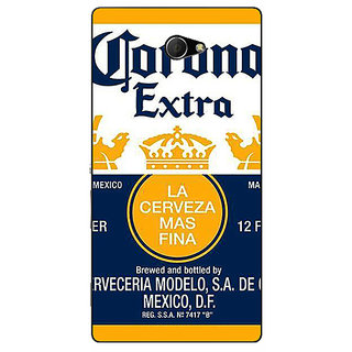 EYP Corona Beer Back Cover Case For Sony Xperia M2 Dual 321246