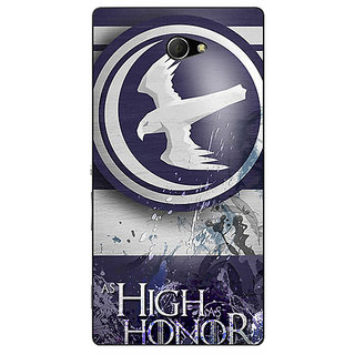 EYP Game Of Thrones GOT Arryn Back Cover Case For Sony Xperia M2 Dual 321532