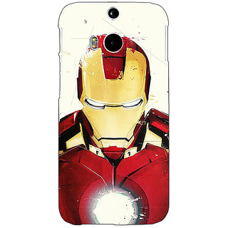 EYP Superheroes Ironman Back Cover Case For HTC One M8 Eye 330023
