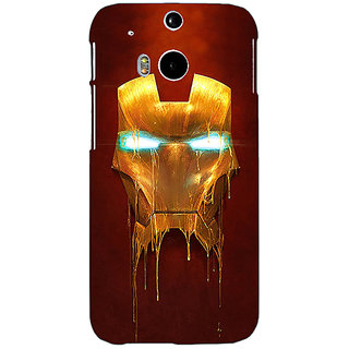 EYP Superheroes Ironman Back Cover Case For HTC One M8 Eye 330025