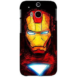 EYP Superheroes Ironman Back Cover Case For HTC One M8 Eye 330030