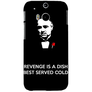 EYP The Godfather Back Cover Case For HTC One M8 Eye 330350