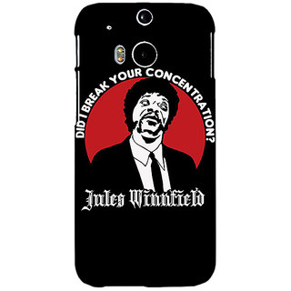 EYP Pulp Fiction Back Cover Case For HTC One M8 Eye 330356