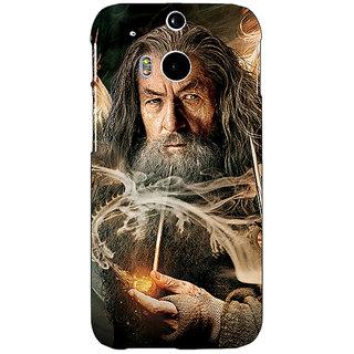 EYP LOTR Hobbit Gandalf Back Cover Case For HTC One M8 Eye 330358