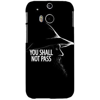 EYP LOTR Hobbit Gandalf Back Cover Case For HTC One M8 Eye 330359