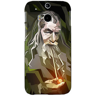 EYP LOTR Hobbit Gandalf Back Cover Case For HTC One M8 Eye 330366