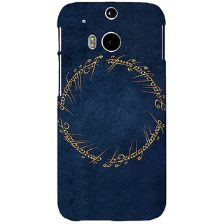 EYP LOTR Hobbit  Back Cover Case For HTC One M8 Eye 330371