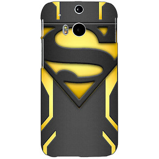 EYP Superheroes Superman Back Cover Case For HTC One M8 Eye 330385