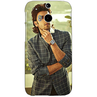 EYP Bollywood Superstar Ranveer Singh Back Cover Case For HTC One M8 Eye 330939
