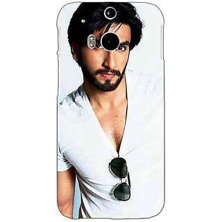 EYP Bollywood Superstar Ranveer Singh Back Cover Case For HTC One M8 Eye 330957