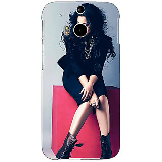 EYP Bollywood Superstar Sonakshi Sinha Back Cover Case For HTC One M8 Eye 330994