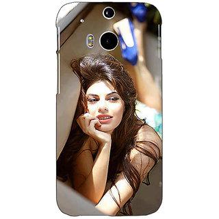 EYP Bollywood Superstar Jacqueline Fernandez Back Cover Case For HTC One M8 Eye 330996