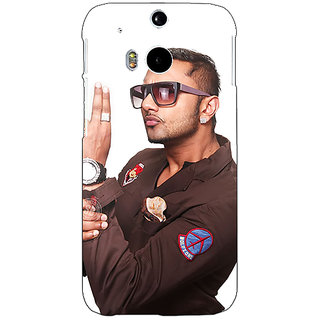 EYP Bollywood Superstar Honey Singh Back Cover Case For HTC One M8 Eye 331183