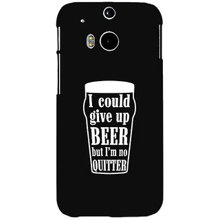 EYP Beer Quote Back Cover Case For HTC One M8 Eye 331254