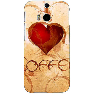 EYP Coffee Quote Back Cover Case For HTC One M8 Eye 331362