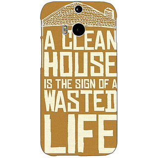 EYP Quote Back Cover Case For HTC One M8 Eye 331371