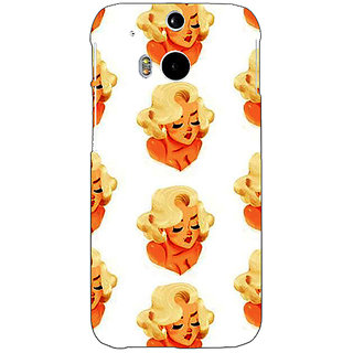 EYP Marilyn Monroe Pattern Back Cover Case For HTC One M8 Eye 331382
