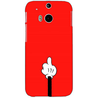 EYP Mickey Mouse Back Cover Case For HTC One M8 Eye 331391