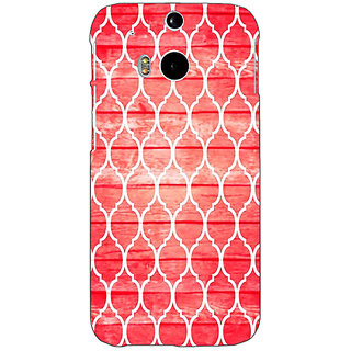 EYP Morocco Pattern Back Cover Case For HTC One M8 Eye 331411