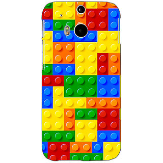 EYP Lego Back Cover Case For HTC One M8 Eye 331442