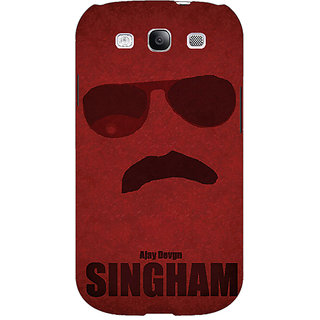 EYP Bollywood Superstar Singham Back Cover Case For Samsung Galaxy S3 51126