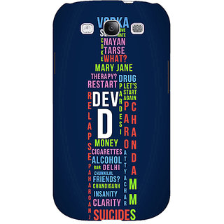 EYP Bollywood Superstar DevD Back Cover Case For Samsung Galaxy S3 51130