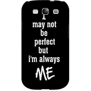 EYP Quote Back Cover Case For Samsung Galaxy S3 51289