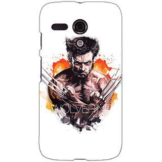 EYP Superheroes Wolverine Back Cover Case For Moto G (1st Gen) 130335