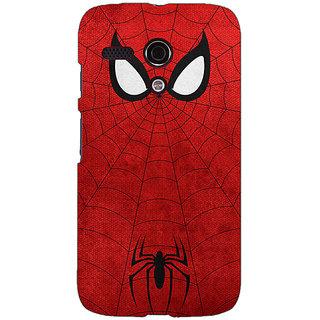 EYP Superheroes Spider Man Back Cover Case For Moto G (1st Gen) 130340