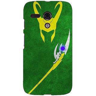 EYP Superheroes Loki Back Cover Case For Moto G (1st Gen) 130341
